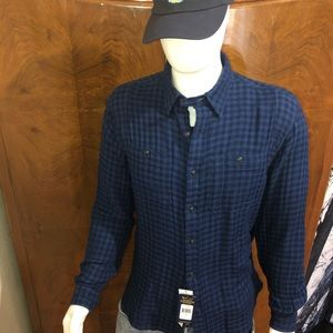 Polo by Ralph Lauren Men's Flannel Indigo Shirt